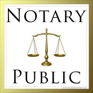 Notary Public Notario Publico
