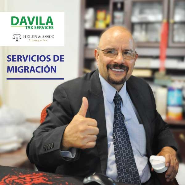 Jesus Davila, Servicios Migratorios, arregle sus papeles